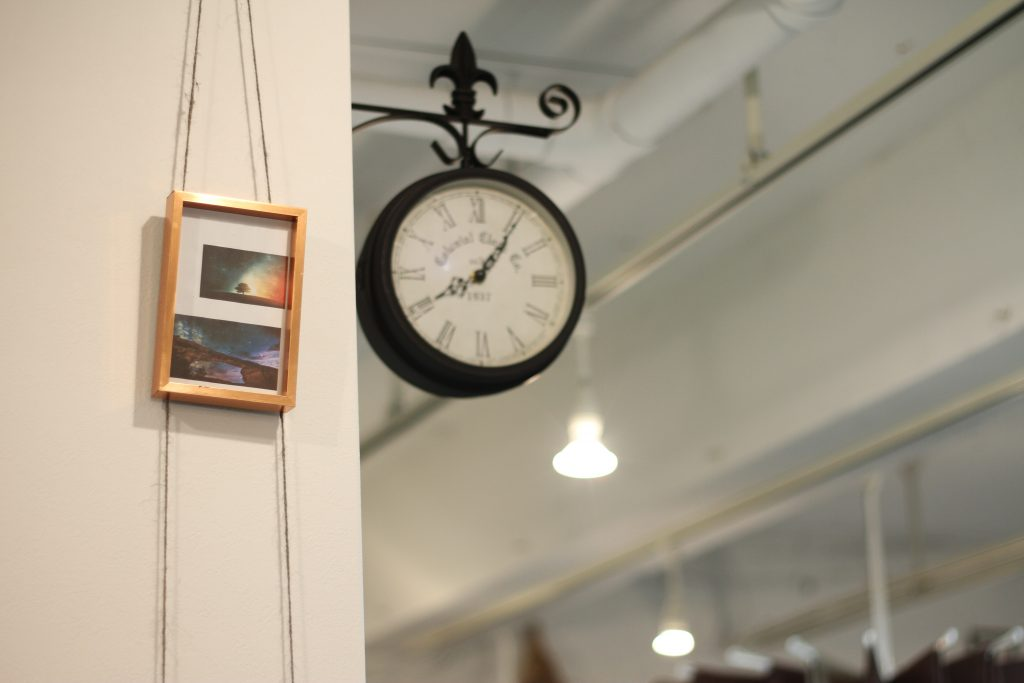 美容室potamuの時計