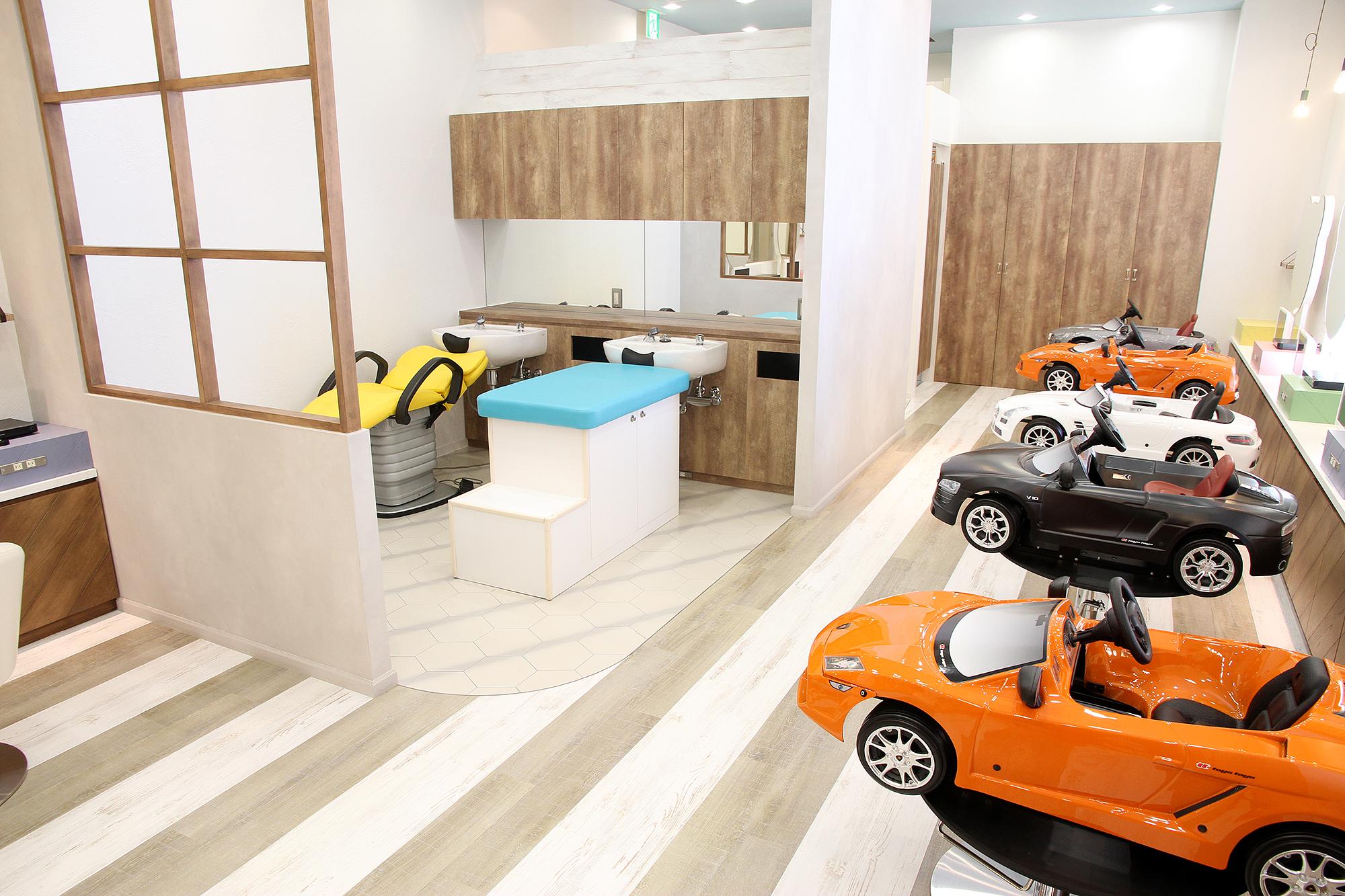 こども美容室「チョッキンズ」が二子玉川にオープン!3