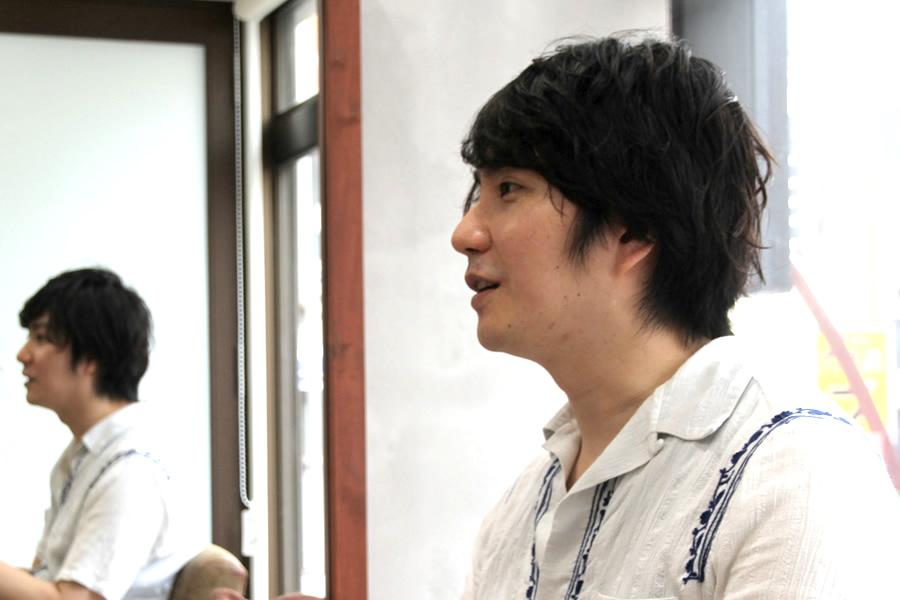 キクトーーーク!:杉浦強志さん(33歳) 美容室Riviera(リヴィエラ)経営 2