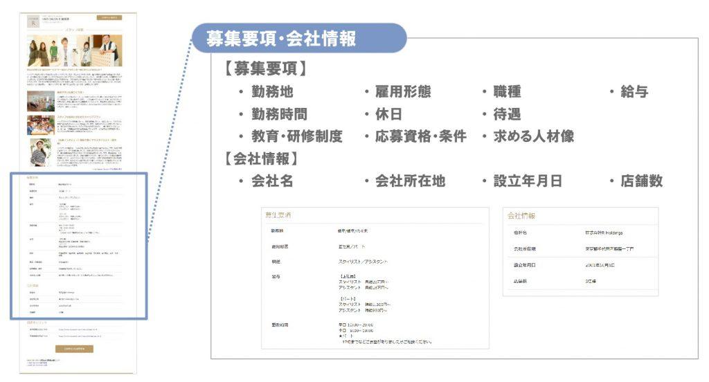 ホットペッパービューティー自社求人ページ作成機能5