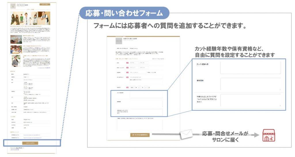 ホットペッパービューティー自社求人ページ作成機能10