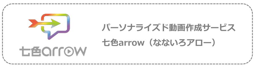 新規再来率UPやブランディングに最適な動画サービス【七色arrow】