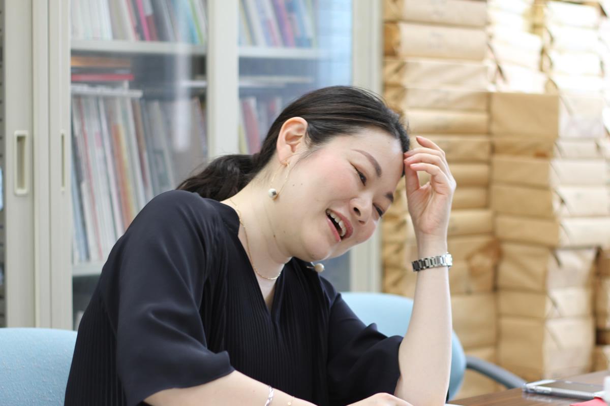 キクトーーーク!:小池入江さん(40歳) 株式会社女性モード社 取締役 2