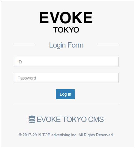 ホームページ制作実績『美容室』【EVOKE TOKYO(イヴォーク・トーキョー)】様 自社CMS