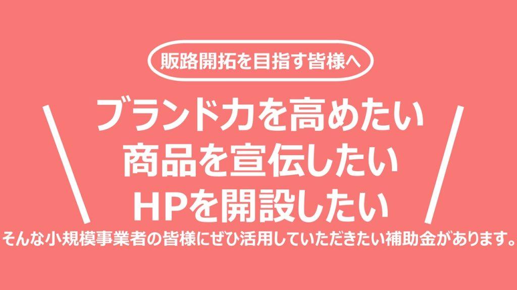 【持続化補助金】新型コロナ特別対応型でHP制作にも使える小規模事業者向けの補助金をご紹介!